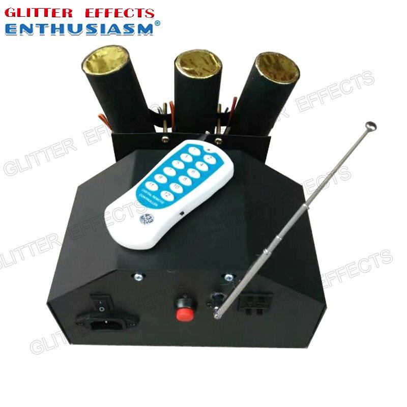 ELT03R télécommande 3 canal danse swing fontaine froide console pour système de mariage machine