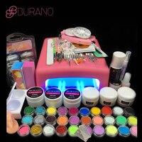 36W UV Dryer Acrylic Nail Art Set Acrylic Nail Kit Kit Nail Gel Kit Gel Nails