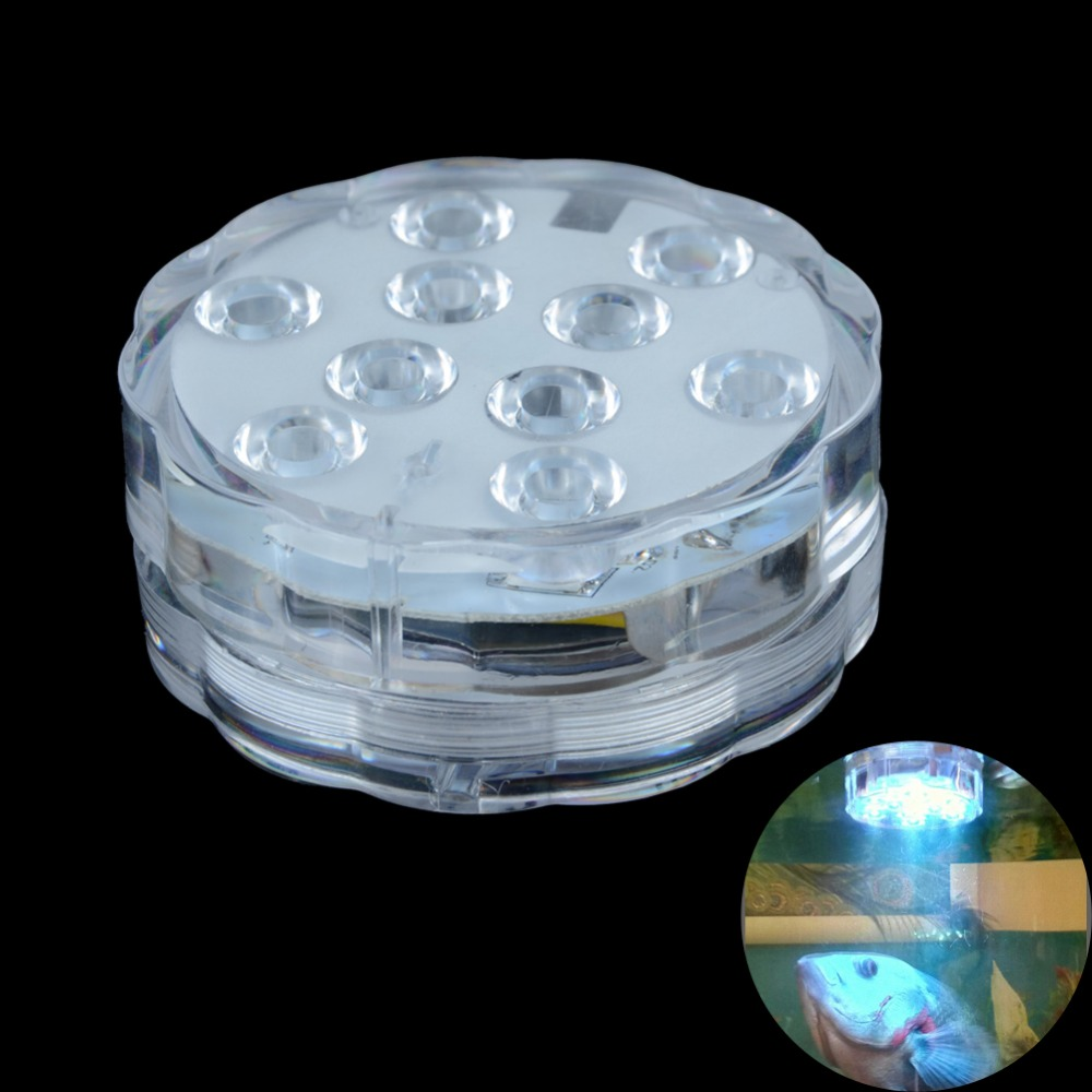 Aquarium Controller 10 Steps With Pictures: Submersible 10Leds Aquarium Diving Light Waterproof