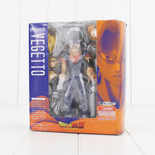 SHFiguarts 17 cm Dragon Ball Z Son Goku Figura Pintada Variante Vegetto PVC Action Figure Toy Modelo para crianças brithday presentes(China)