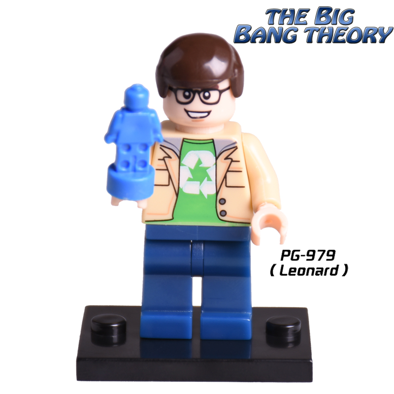 Single Sale Leonard Avengers Big Bang Theory Diy figures Cartoon Movie Penny Howard Super Heroes Building Blocks Kids DIY Toys m10 25 30mm adjustable caliber universal aluminum alloy separate gun bracket scope mount black