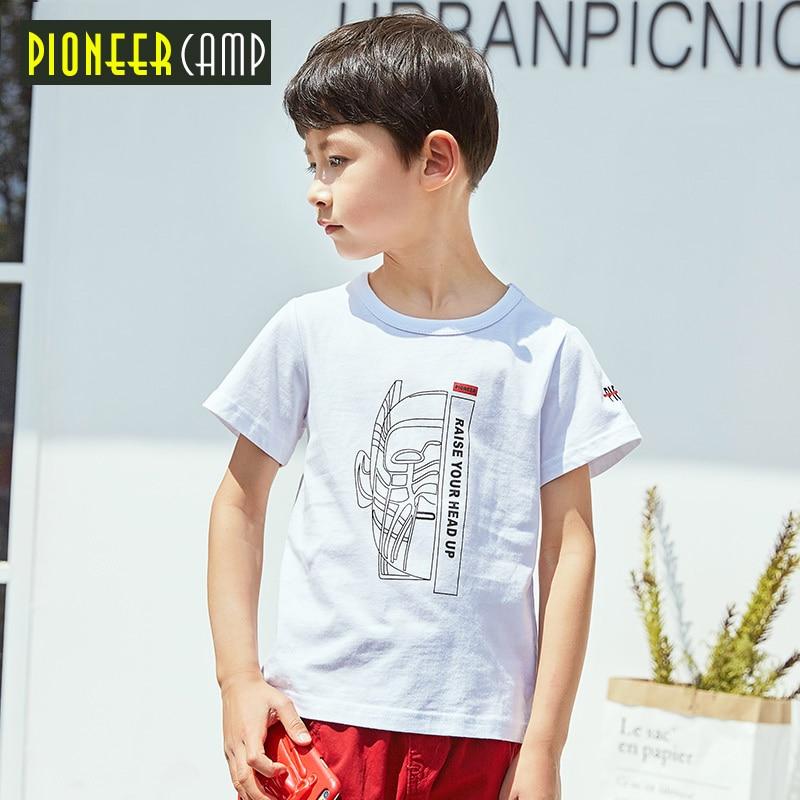 79b665599 Pioneer Camp Kids 2017 Boys T Shirts Summer Fashion Stripe Tops For ...
