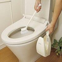 Long Handle Toilet Brush Set Creative Toilet Brush Soft Hair Toilet Sitting Bbrush Base Cleaning Brush