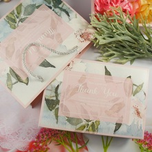 21*14*5cm 5pcs flower hide in pink design Cookie mooncake Gift Paper Box bag Macaron Chocolate Snacks Sweet Candy use pack Boxes