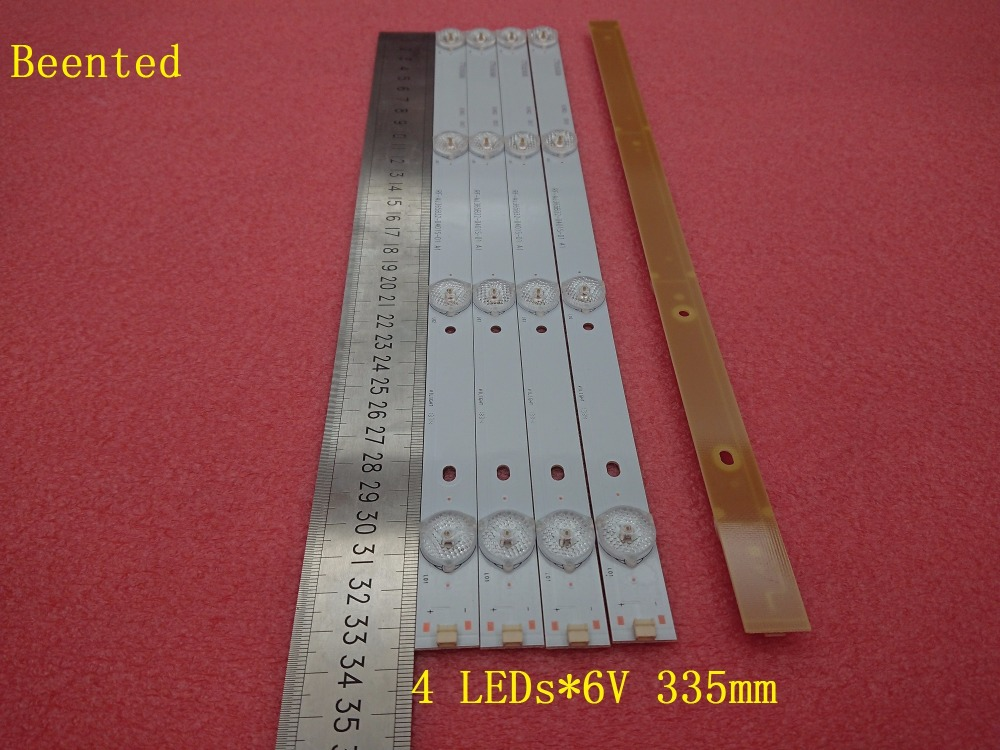 Beented New 10 PCS*4 LEDs*6V 335mm*16mm LED backlight strip RF-AJ365B32-0401S for 32 inch 40 inch 42 inch TV