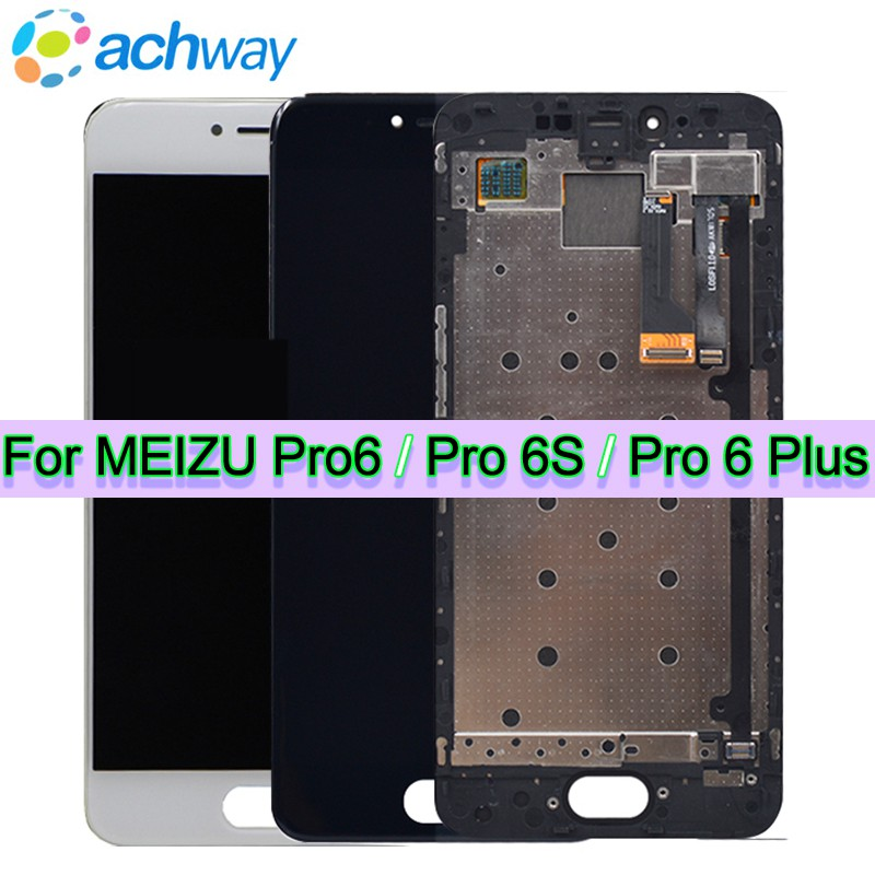 100 Tested NEW Meizu Pro6 Pro 6S Pro 6 Plus LCD screen display Touch Screen Digitizer