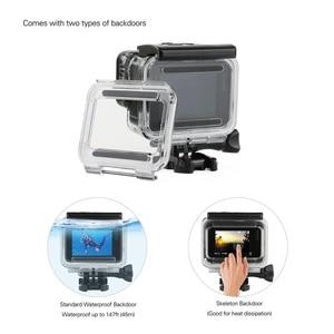 Image 3 - SOONSUN 45M Custodia Impermeabile Caso di Immersione Subacquea + Dive Lenti Kit Filtro per GoPro hero 5 6 7 nero Go Pro 7 Accessorio