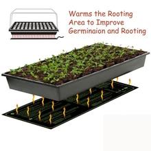 Нагревательный коврик для рассады, водонепроницаемый проращиватель семян растений, размножение, клон, пусковая площадка, Садовые принадлежности, размножение