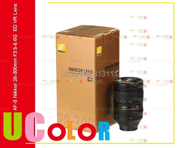 New Nikon AF S Nikkor 28 300mm f 3 5 5 6G ED VR Standard Zoom