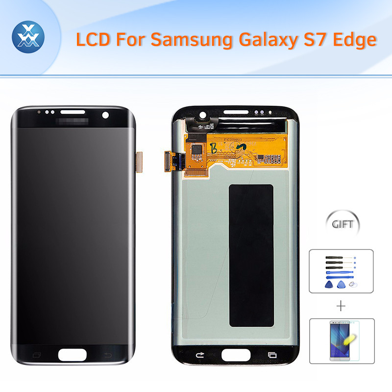 Samsung Galaxy S7 Edge SM-G935G935FG935AG935VG935PG935TG935R4G935W8 LCD & Digitizer Assembly - Black