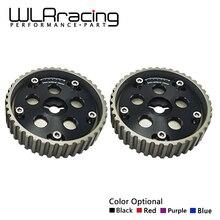 WLR RACING-(одна пара) 2 шт. Регулируемый кулачковый комплект для Suzuki Swift GTI G13B кулачковый шкив(синий, красный, фиолетовый, черный) WLR6543