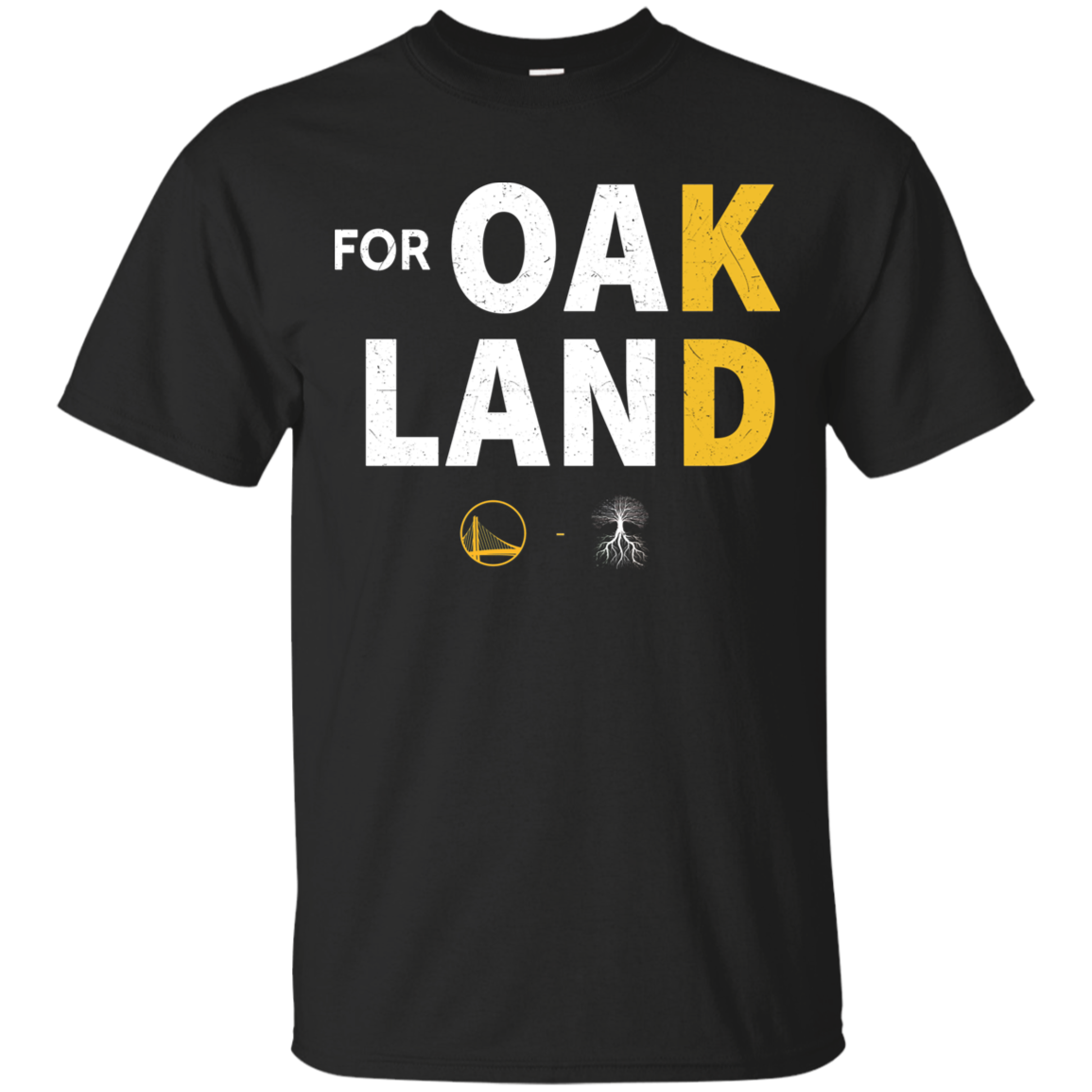 <font><b>Shirt</b></font> For Oakland <font><b>KD</b></font> Kevin Durant Logo Blue-Black T-ShirtTops wholesale Tee custom Environtal printed Tshirt cheap wholesale image