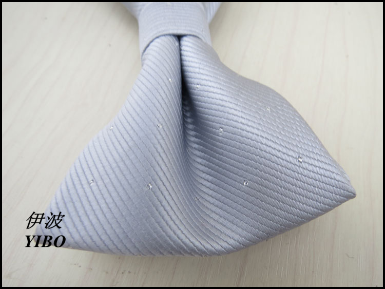 mens silver bowtie/small dot and stripe design/man fashion high-quality accessories light grey bow tie gravata