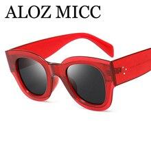 ALOZ MICC Fashion Women Square Sunglasses Hot Men Rivets Gla
