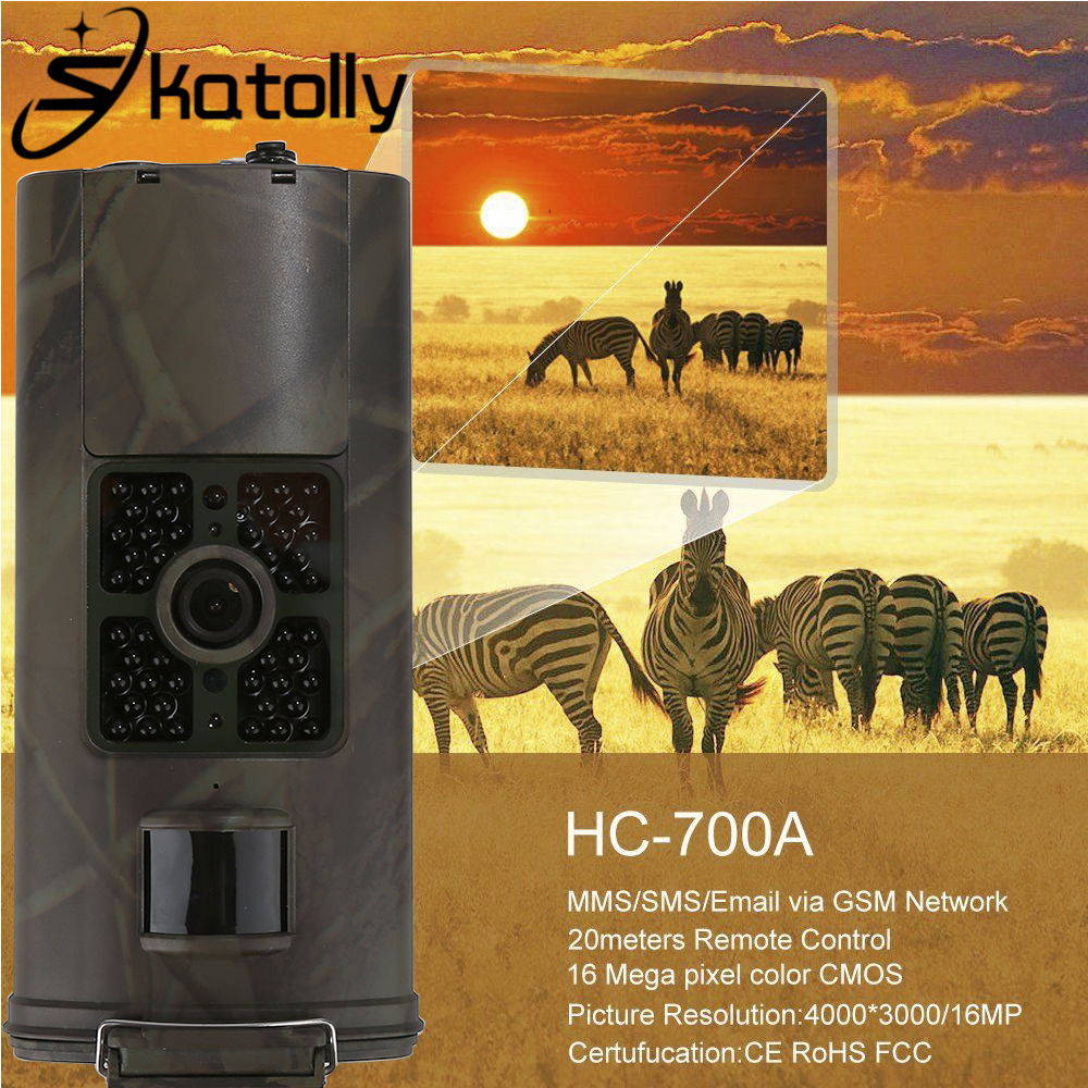 Skatolly 1*HC-700A Hunting Camera Wildlife Scouting Night vision Full Automatic IR Hunting Camera HC Type HC700A Hunting Cam! топор truper hc 1 1 4f 14951