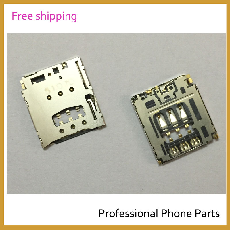 Original Sim Reader Slot Holder For Sony Xperia T3 D5102 D5103 D5106 Flex Cable Ribbon Mobile Phone Repair Parts