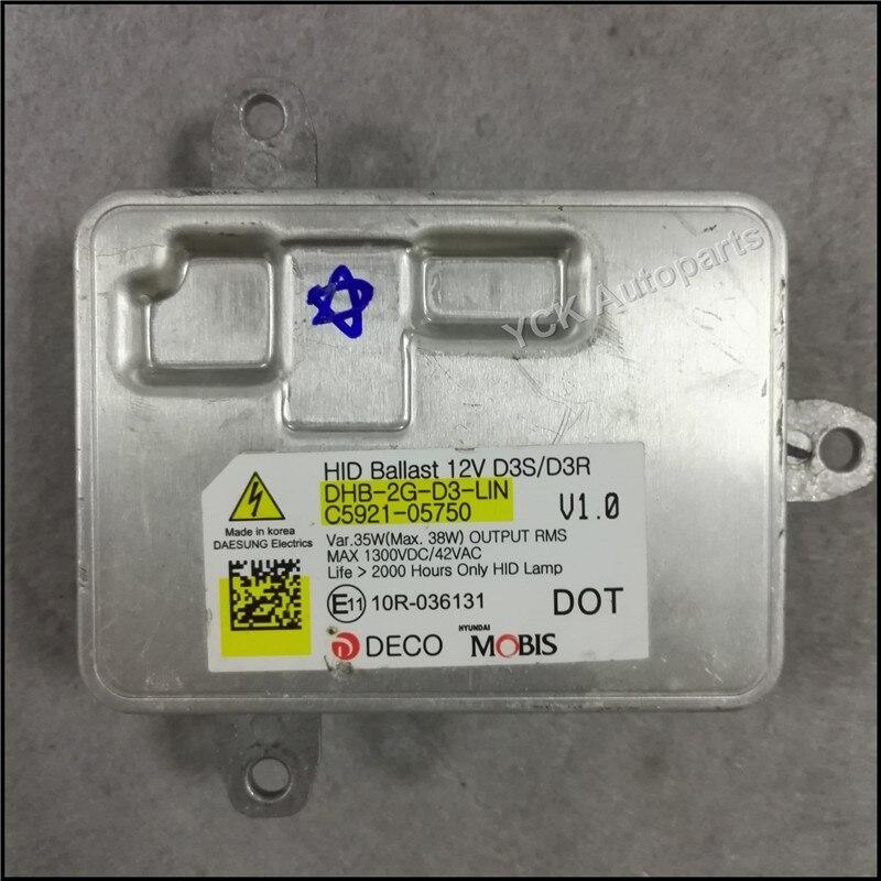 ФОТО Wholesale Original Mo bis HID Xenon D3S D3R  Ballast Control Module  for 10R-036131 10R036131 C5921-05750