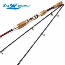NEW 1.8M adjustable 2.1M Lure Fishing Rod With 2 Tips Power M High Carbon Bait Casting Rod Fishing Tackle Free Shipping