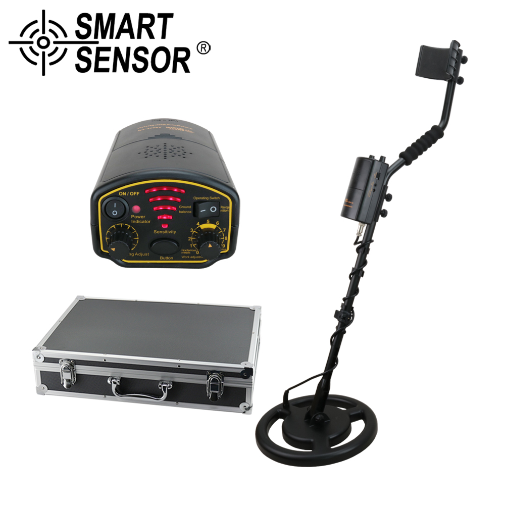 SMARTSENSOR AS944 Detection Depth 2.5M Professional Underground Metal Detector Treasure Hunter Gold Silver Digger Instrument измеритель освещенности smartsensor ar813