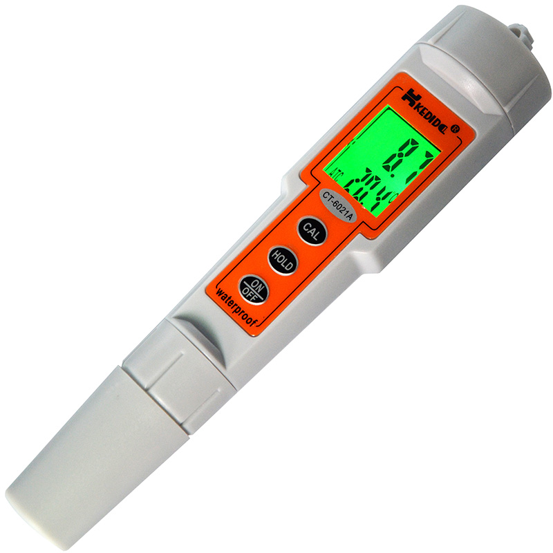 Free Shipping pH Pen Digital Ph Meter Tester 0.0-14.0ph 0.1ph 3 Points Auto Calibration Waterproof Replaceable probe sensor auto calibration mini digital pocket pen type ph meter multimeter tester hydro h028
