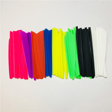 Здесь можно купить   100PCS 2.5 inch Water Drop Shaped Plastic Feathers Outdoor Bows And Arrows Hunting