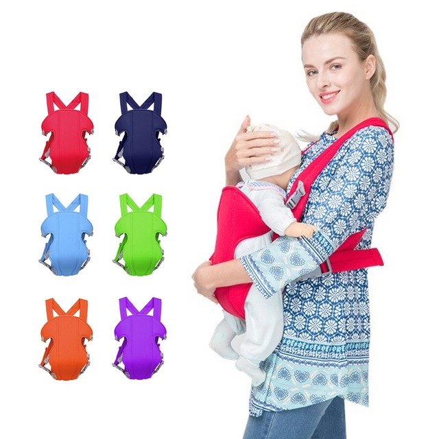 Adjustable Baby Safety Carrier Wrap Breathable Front Facing Infant Carriers Backpacks Toddler Ergonomic Kangaroo Backpack Sling