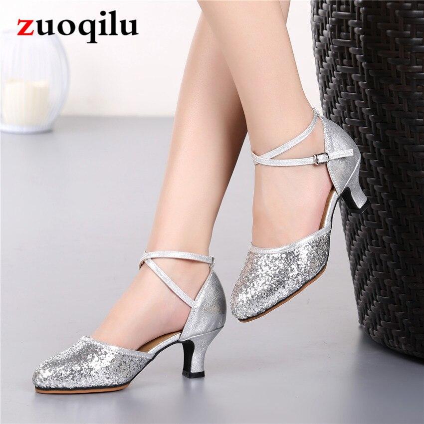 Argent talons hauts chaussures pompes femmes chaussures fête mariage chaussures talons dames chaussures chaussure femme talon zapatos mujer 2019 # DXR30