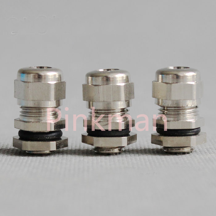 1pc Metric System M60*1.5 Nickel Brass Cable Glands Apply to Cable 37-44mm dls m60