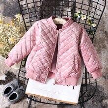Bebek giyim palto 2019 yeni moda çocuklar ceket sonbahar kış bebek kız giyim kız üstleri çocuk giyim kız ceket