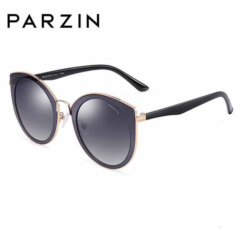 Image 2 - PARZIN Sunglasses Women Polarized lightweight TR90 Frame Brand Designer Coating Mirror Lens Women's Sunglasses Ladies With Case-in Women's Sunglasses from Apparel Accessories