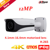New Arrival 4k 12MP Dahua IP Camera IPC HFW81230E Z IR Bullet Camera 4 1mm 16