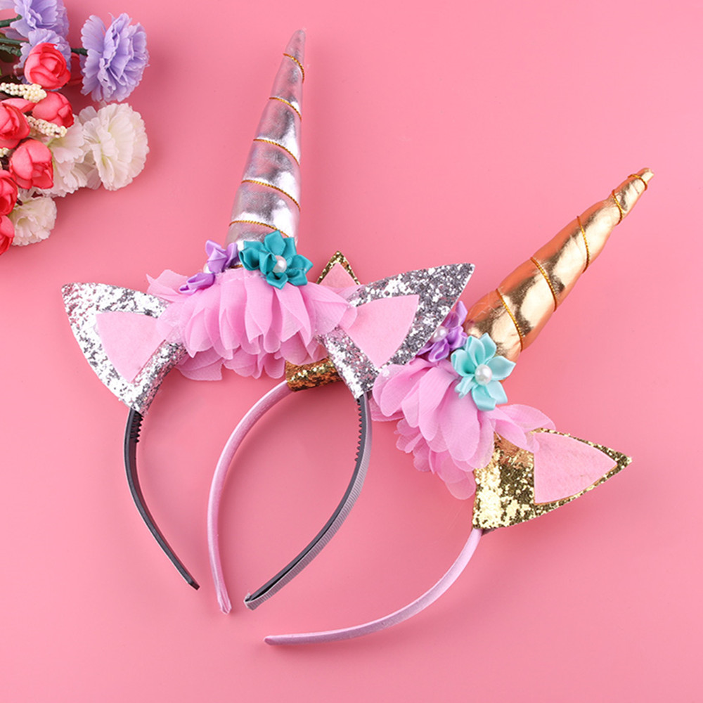 gootrades 1 PC DIY Hair Kids Chiffon Headband Hairband