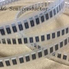 50 шт. 2010 10 Ом 10R 5% 3/4W smd с толстой пленкой резистор проволочного чипа(2.2R 5.1R 5.6R 6.8R 56R 62R 68R 75R