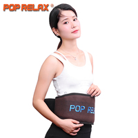 POP RELAX Tourmaline Massage Belt Ion Germanium Stone Physiotherapy Electric Heating Waist Pain Relief Massager Cellulite Belt