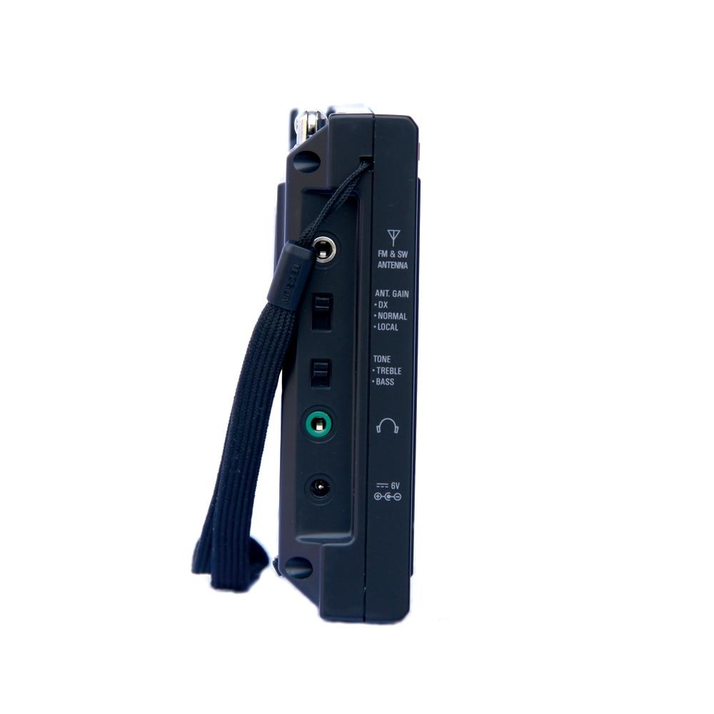 TECSUN PL-600 Rəqəmsal Tuning Tam Band FM / MW / SW-SSB / PLL - Portativ audio və video - Fotoqrafiya 6