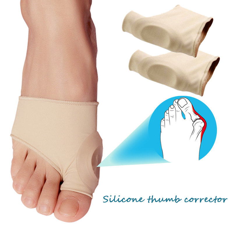 F Hallux Valgus Korrektion Ærme Fodpleje Special Big Toe Bone Silicone Ring Fod Thumb Orthopedic Brace Relieve Foot Thumb
