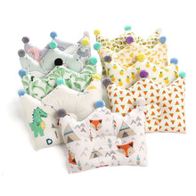 Pillow Newborn-Neck Cushion Bedding Support Crown-Dot Prevent-Flat-Head Baby Infants