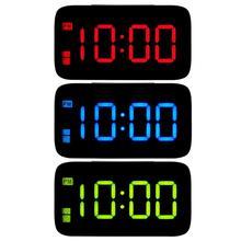 СВЕТОДИОДНЫЙ Цифровой Будильник Электронный usb-будильник ночник для спальни дома