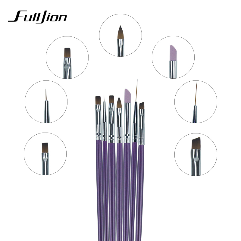 New 73pcsset Nail Brush Nail Art Design Painting