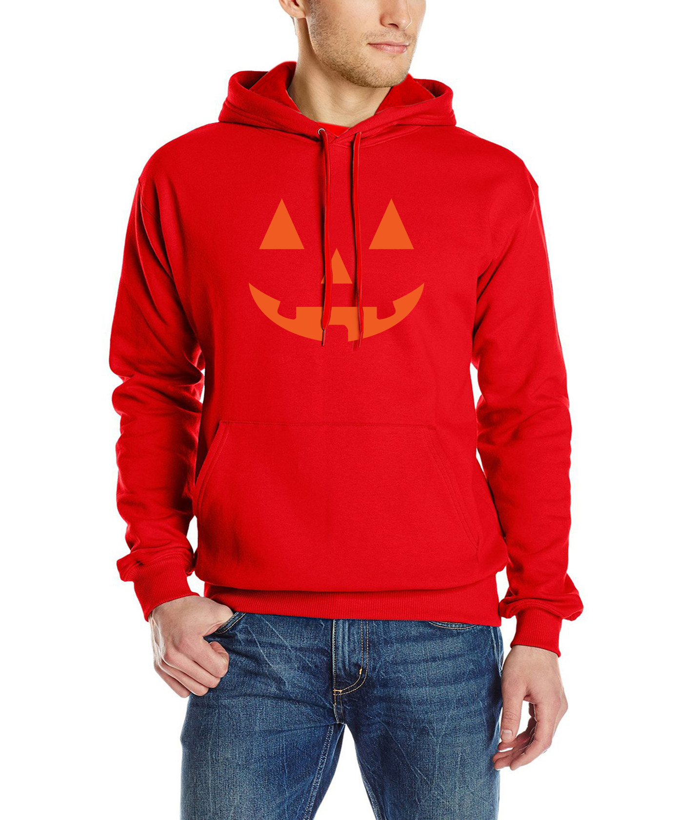 sweatshirt men lantern pumpkin halloween costume autumn fashion ...