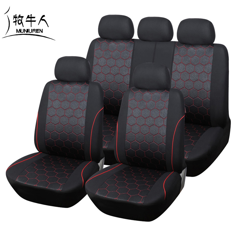 Miraculous Us 41 99 16 Off Muniuren Hot Sales Soccer Ball Style Car Seat Cover For Men Jacquard Fabric Universal Suv Truck Seat Covers Accessories Black In Alphanode Cool Chair Designs And Ideas Alphanodeonline