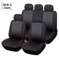 Hot Sales Soccer Ball Style Car Seat Cover For Man Jacquard Fabric Universal Fit Most SUV