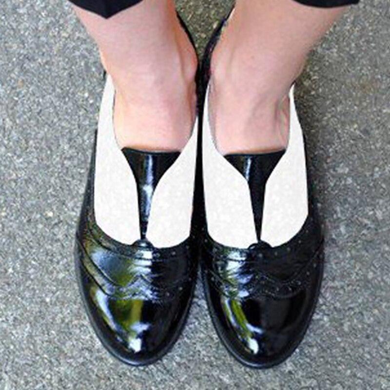 brown Pu Mixte Black Plat Appartements yellow Cuir En Pour 42 Dames Femmes Richelieu Couleurs Plus 41 43 Designer Taille Augmenter Chaussures q1FwqfHg