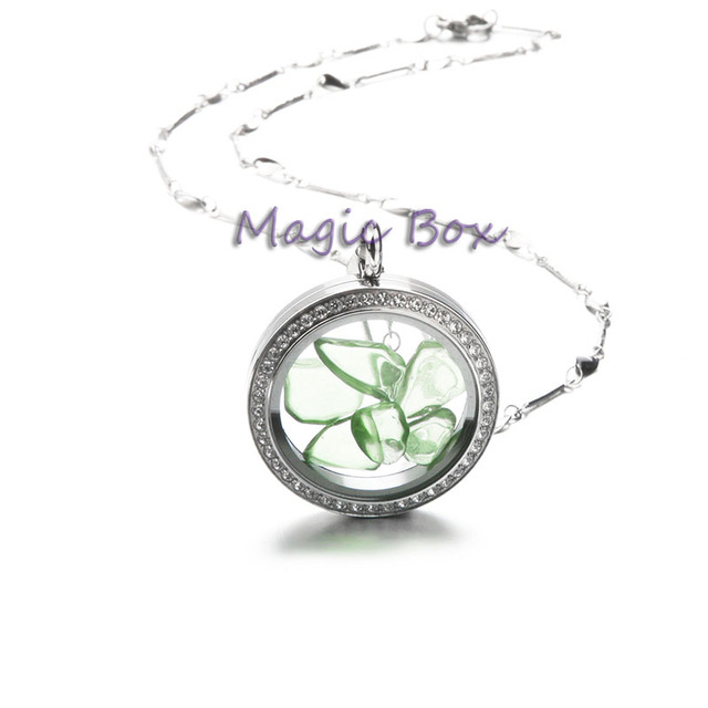 Newest Similer Settting Stones Origami Owl Floating Lockets 316l