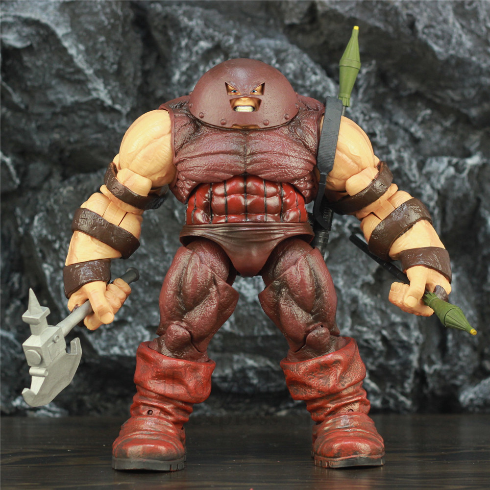 "Marvel Select X MEN Juggernaut 10"" Action Figure 22cm KO's Diamond Select DST MS X MEN Deadpool X Froce Cain Marko Legends Toys-in Action & Toy Figures from Toys & Hobbies    1"