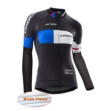 2017 Pro Orbea Women Cycling Jersey Long Sleeve Ropa Maillot ciclismo mujer Wear bike clothing MTB bicycle clothes Sportwear K9