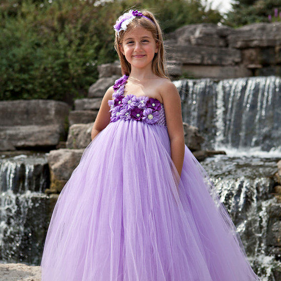Online shop lavender with purple flower girl dress mid calf casual lavender with purple flower girl dress mid calf casual lavender baby girl tutu dress baby toddler clothing for birthday party mightylinksfo