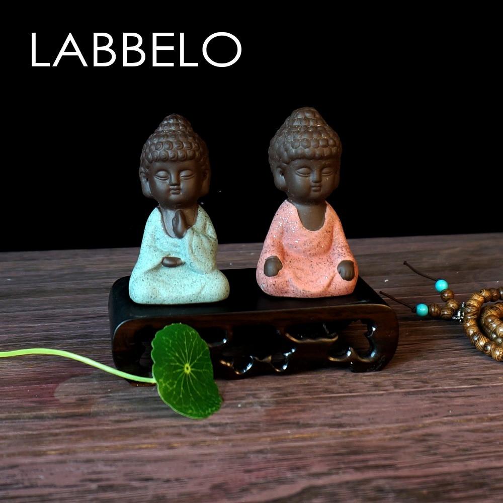 labbelo κεραμικά Βούδα άγαλμα μοναχός - Διακόσμηση σπιτιού - Φωτογραφία 4