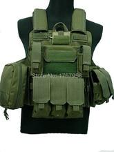 лучшая цена Molle Combat Strike Plate Carrier Tactical Vest military tactical vest
