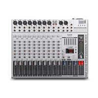 G-MARK GMX1200 профессиональный звуковой микшер микшерный пульт dj Studio 12 каналов 8 моно 4 стерео 7 Бренд EQ 16 эффект USB Bluebooth